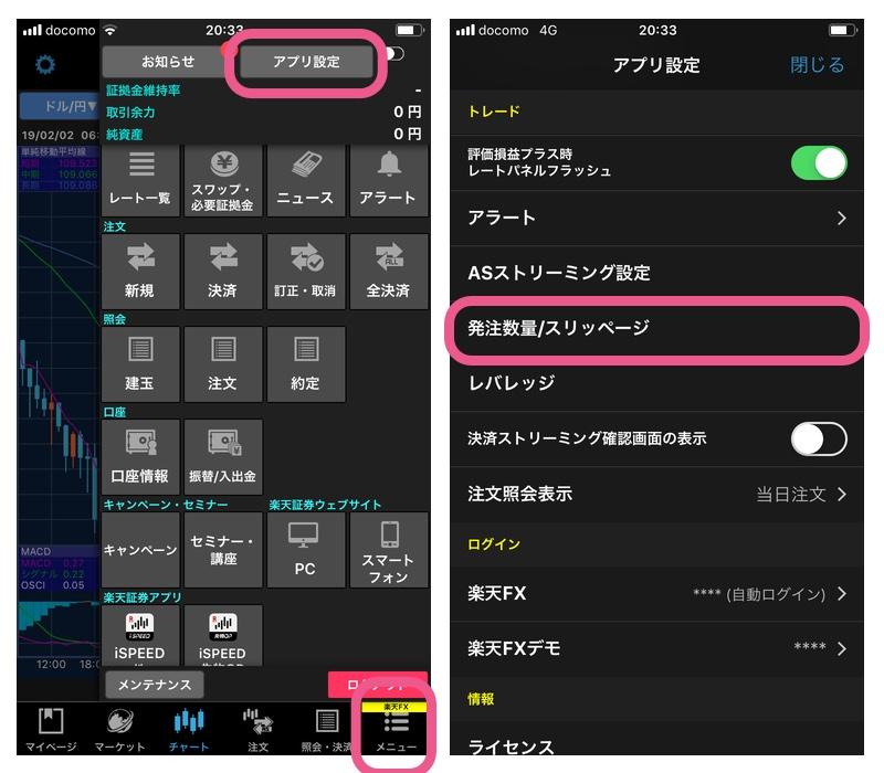 楽天FXアプリレビュー